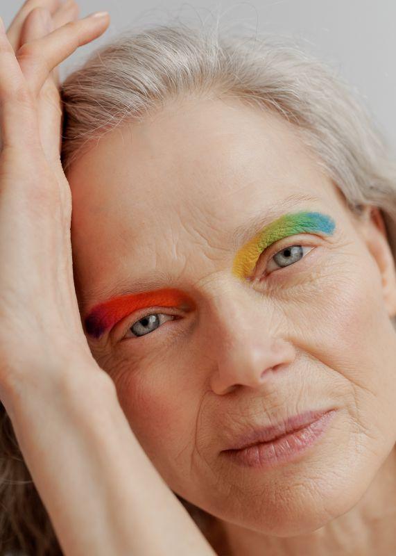 Ruben Riermaier, Katja Maaßen, Best Ager Beauty, Generationsübergreifend, Make-up Farben, Jutta von Brunkau