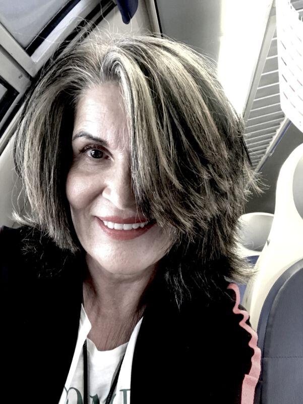 Margit Rüdiger graue Haare