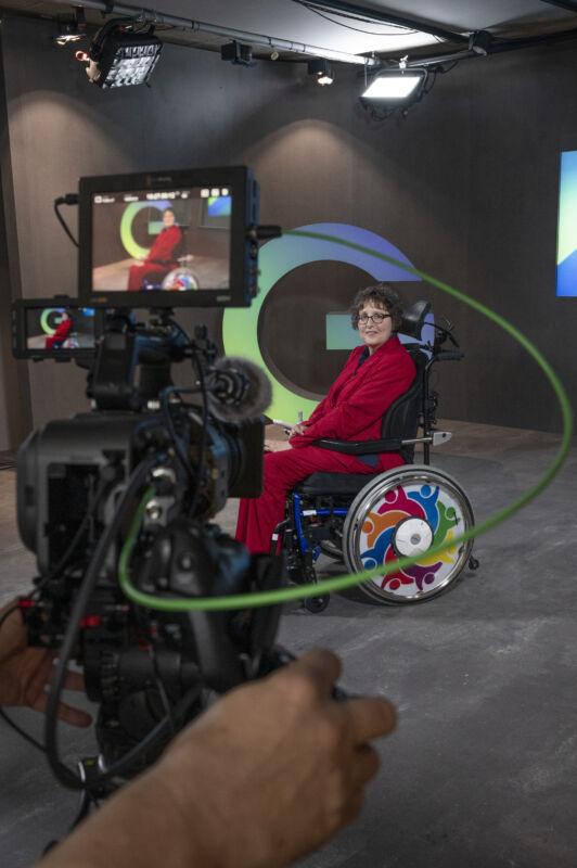 Karen Schallert Führen trotz Handicap