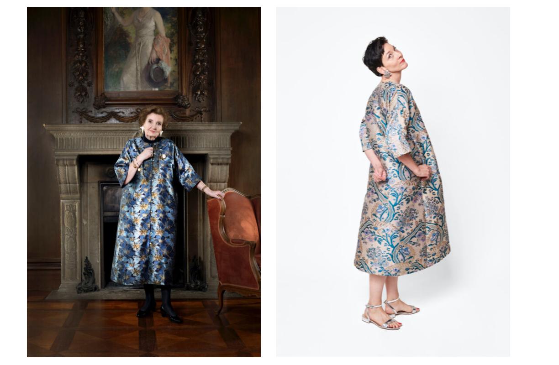 Kimono Mode Frisch Berlin festlich Best ager