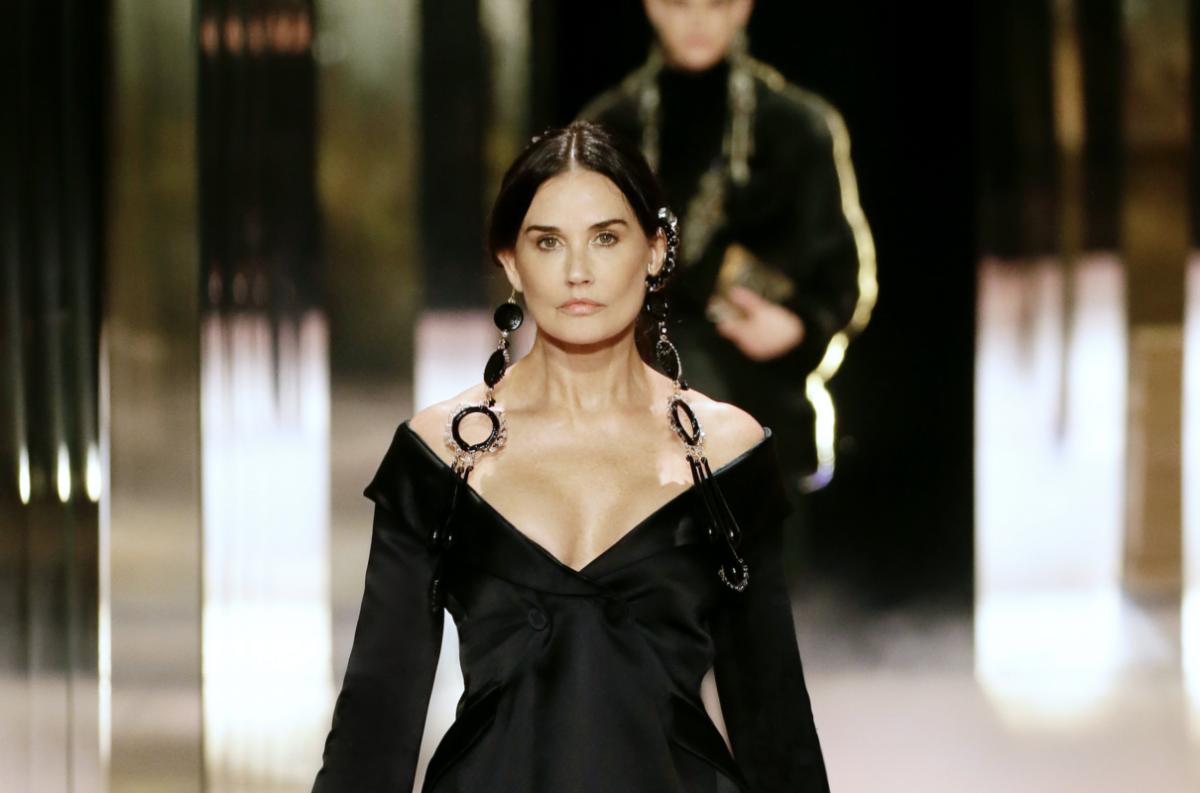 Demi Moore Fendi Couture