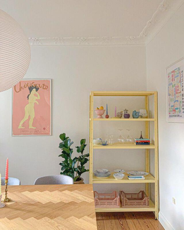 Pastellfarbenes Interior