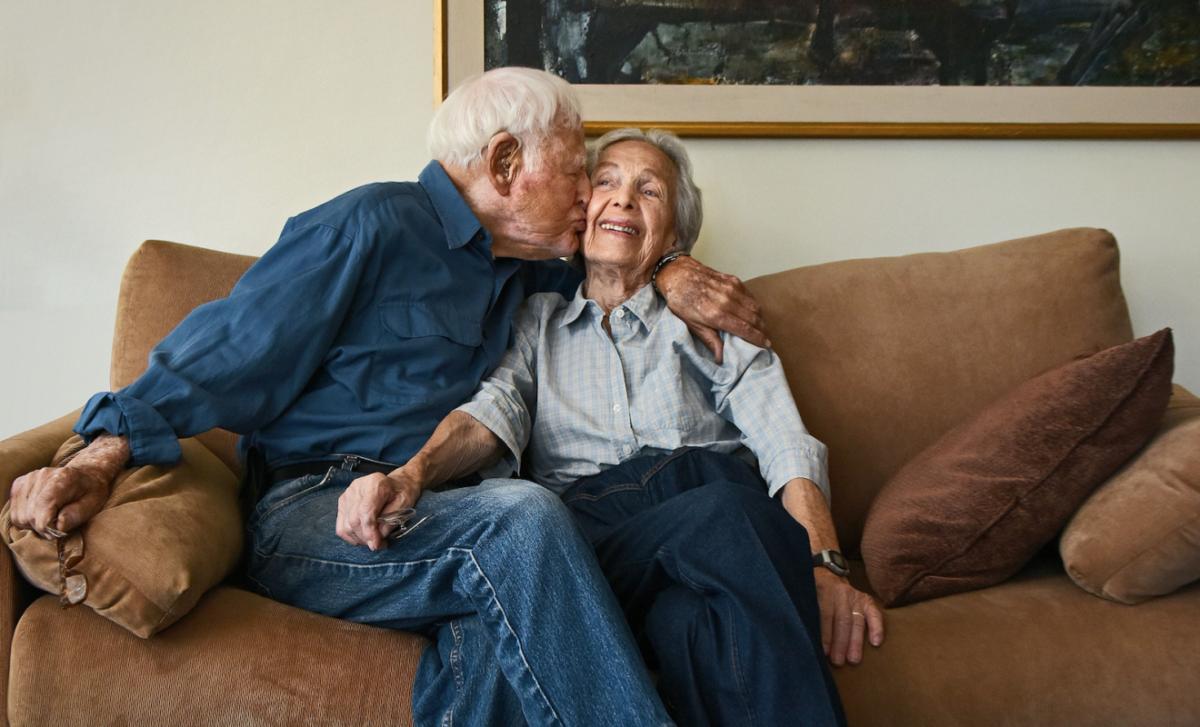 Morrie und Betty Markoff aus Karsten Thormaehlens Buchprojekt Aging Gracefully