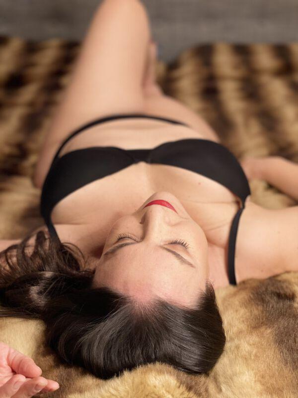 Manuela Wäsche Shooting Sexy mit 50