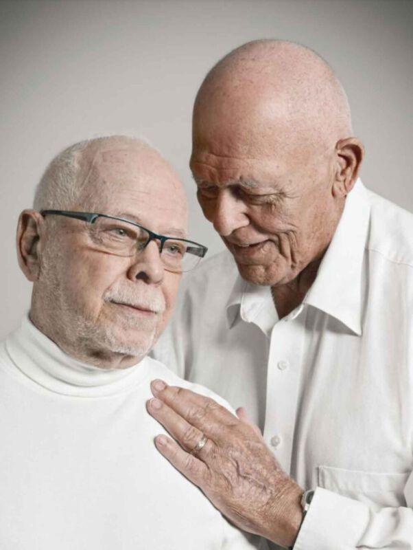 Senioren aus der LGBT-Community