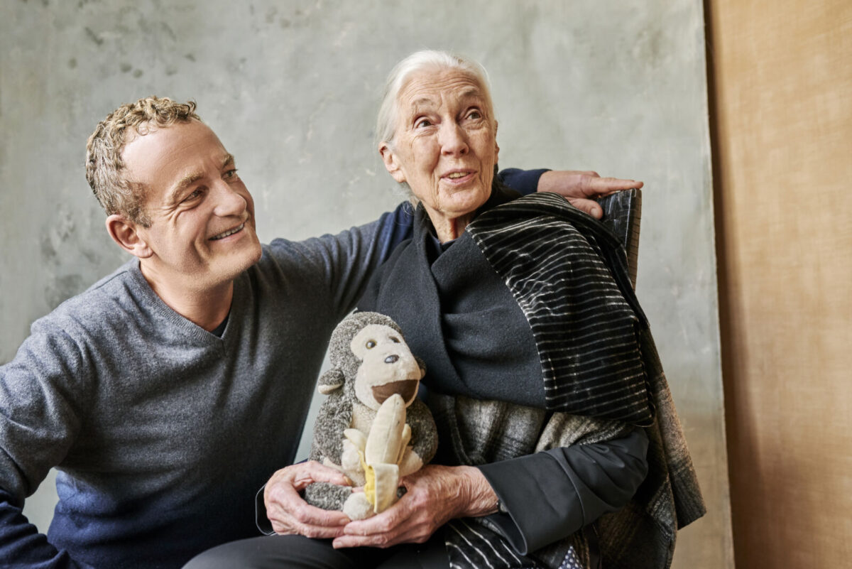 Jane Goodall Interview 2021 Stiftung Charity Heyday MagazineCharity Elemente Clemente