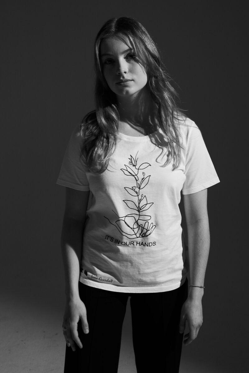 Jane Goodall T-shirt Charity Elemente Clemente