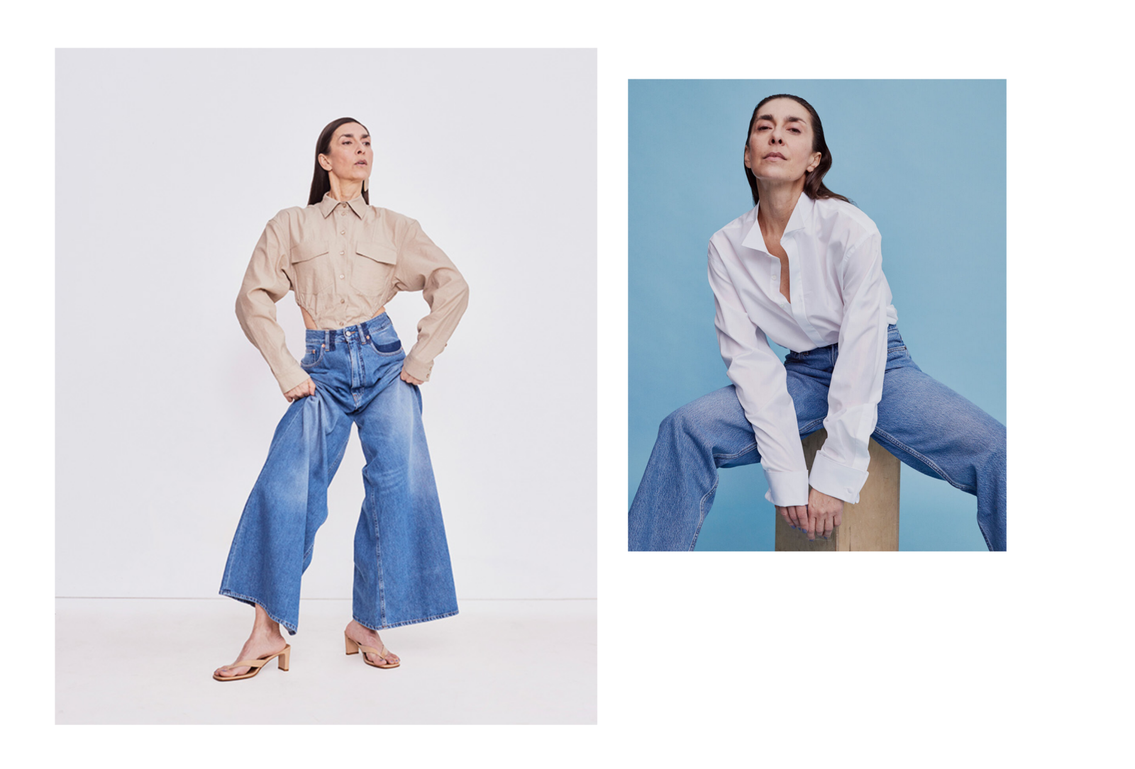 Jeans Ü50 Mode