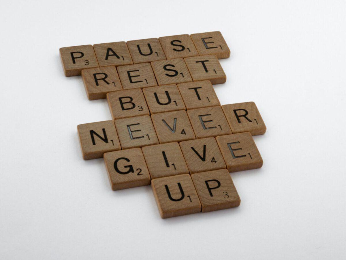 Niemals aufgeben, Restart