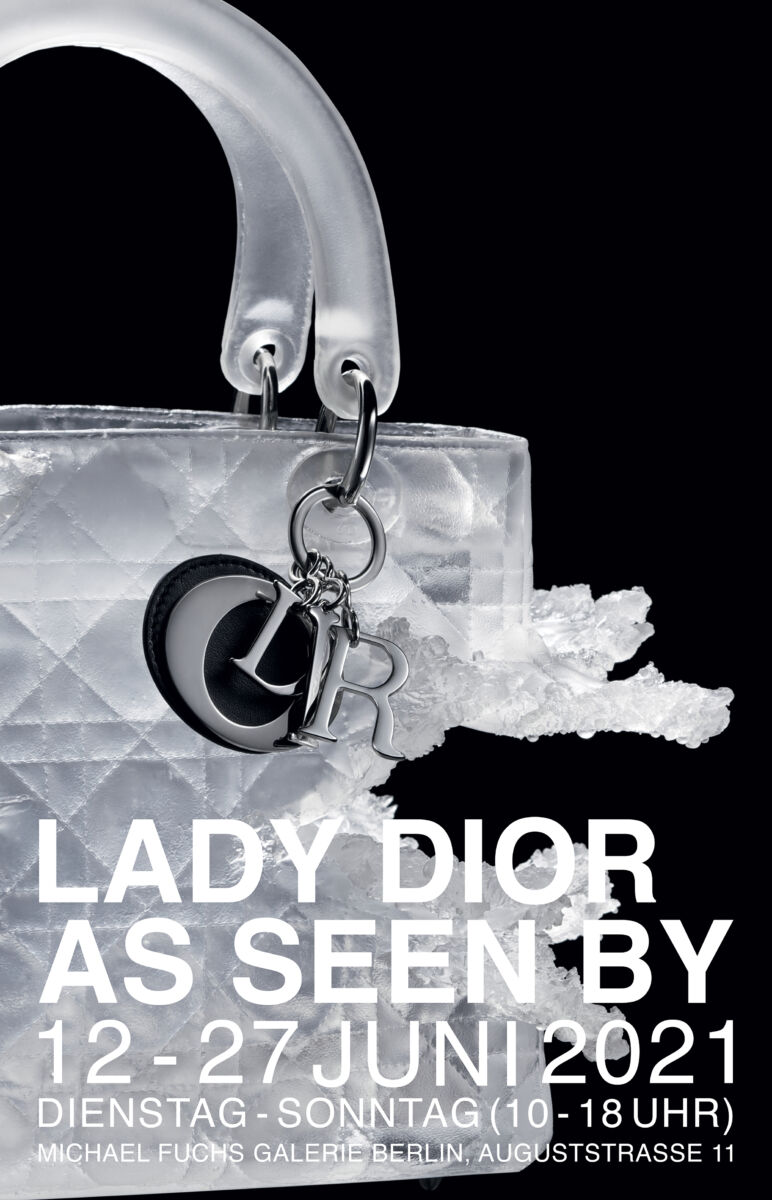 Lady Dior As Seen By Wanderausstellung in Berlin  Plakat