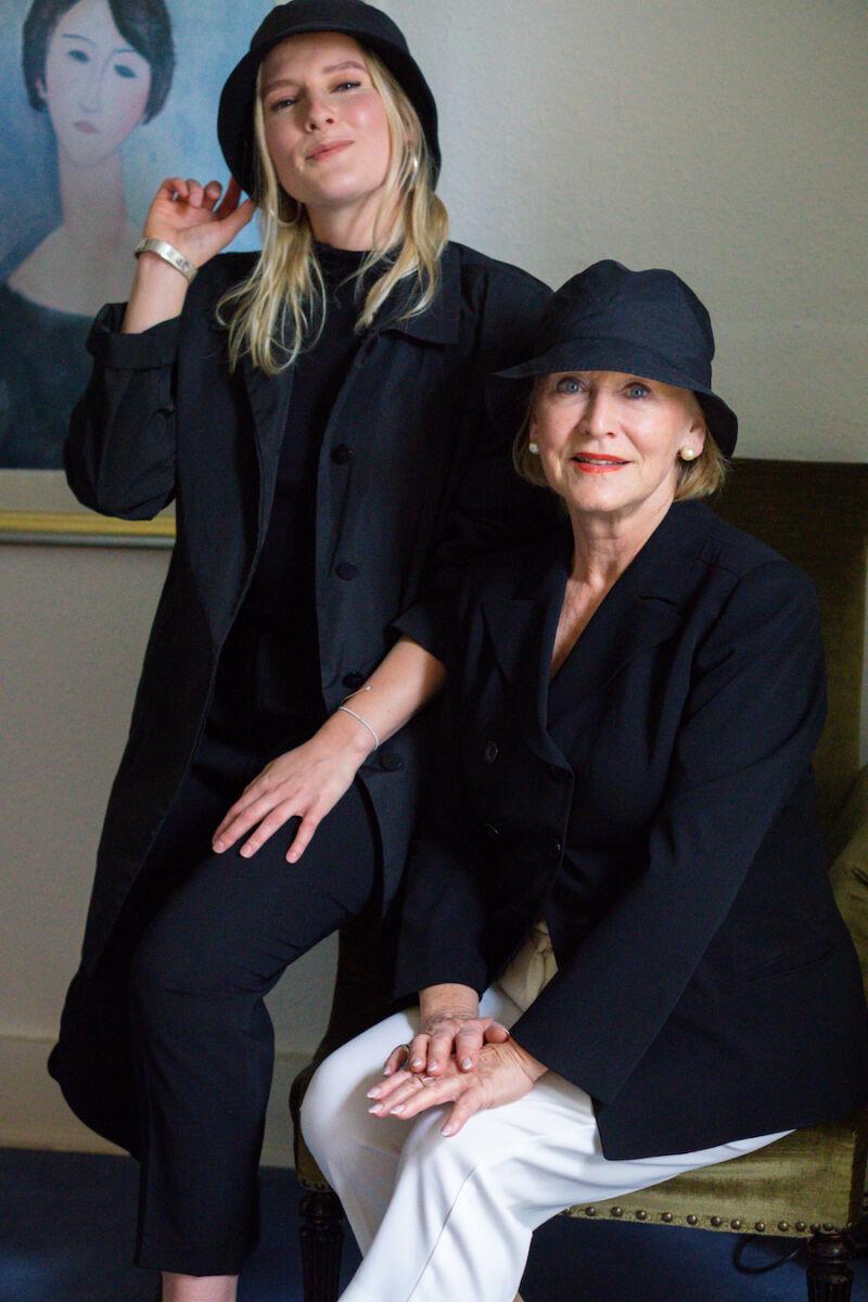 Luisa Hartung von Style is ageless und ihre Freundin Gertrud