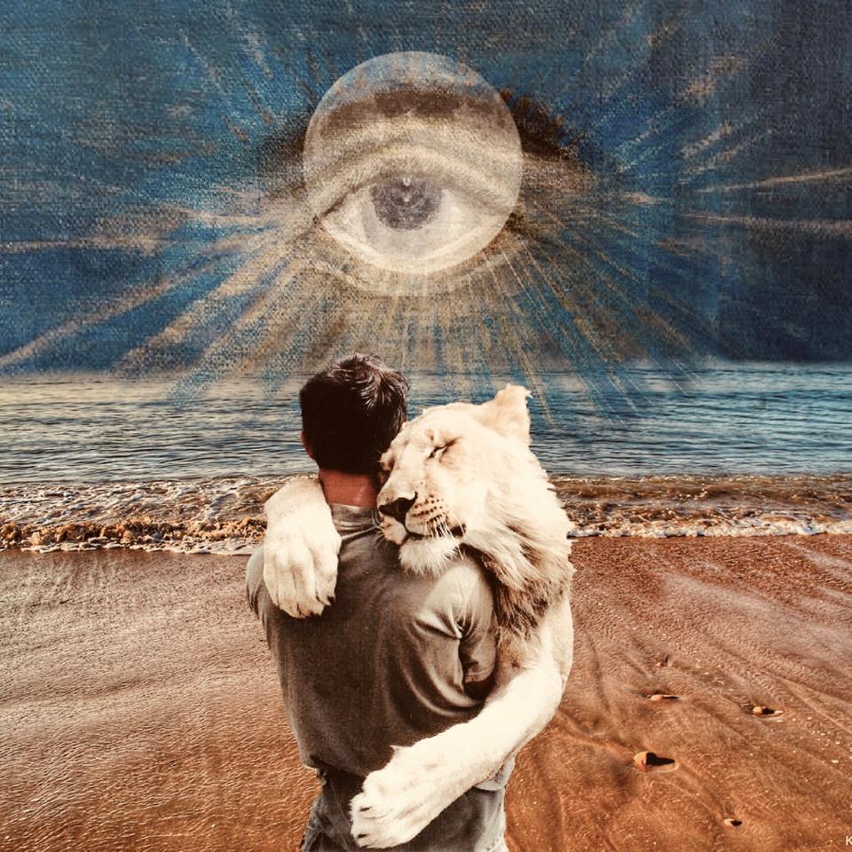 Eine Collage zur Sternenkonstellation im Neumond August 2021