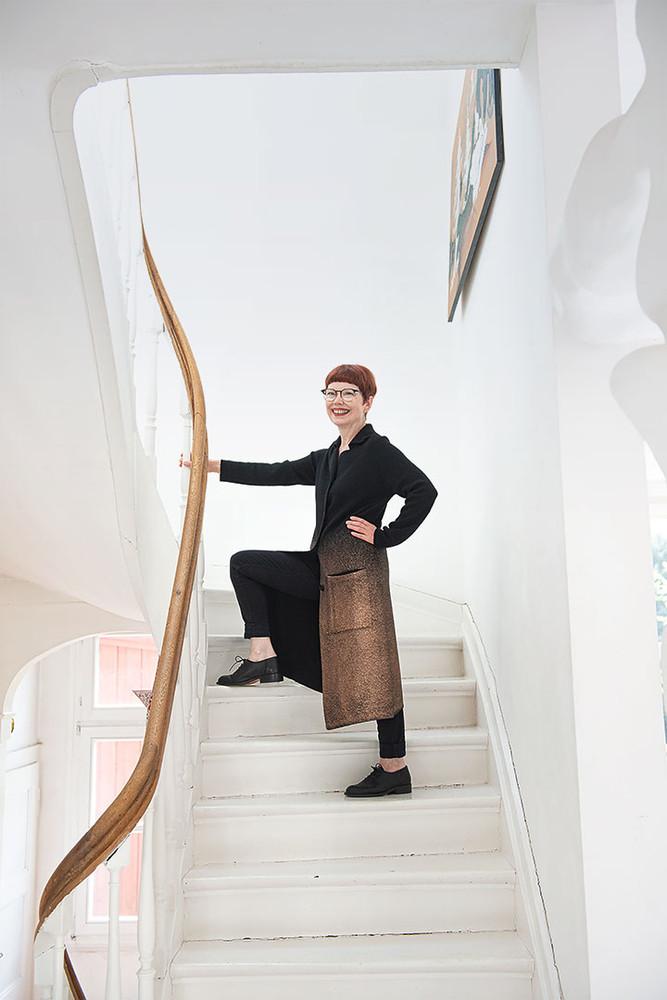 Andrea Halstenbach, Inhaberin des Modelabels Halstenbach Fine Clothes