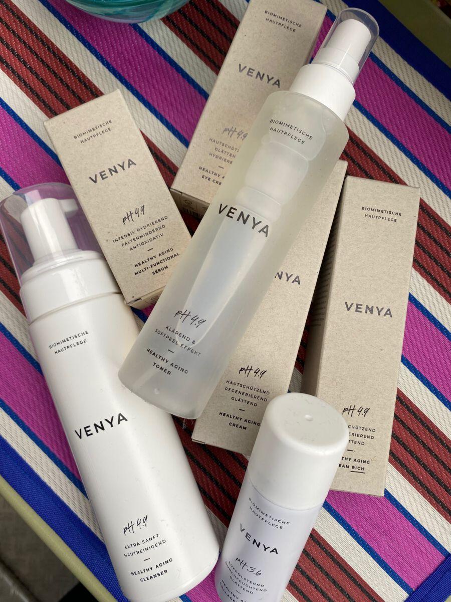 Beauty Test der Healthy-Aging-Linie Venya von Heyday Magazin