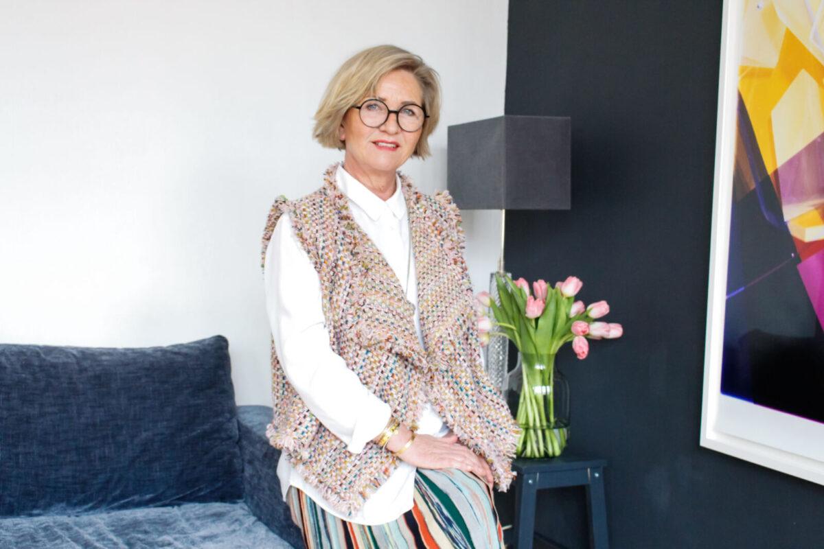Modedesignerin und Illustratorin Martina Hüsgen stellt ihre Arbeit vor